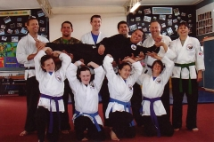 Northland Kenpo Karate William Paki Supported By His Peers During Black Belt Grading October 2008
