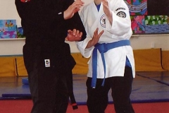 William Paki Northland Kenpo Karate Supported By Daughter Sharneece Paki-Joyce At William's Black