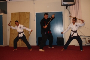 Newest & Youngest brownbelts – April 2010