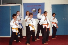 Northland Kenpo Karate Juniors Who Participated At The 2008 NZKKA Wellington Tournament.